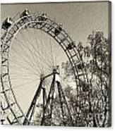 Old Ferris Wheel Canvas Print