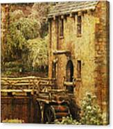 Old Mill In Arkansas Canvas Print