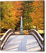 Old North Bridge Concord Canvas Print