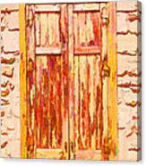 Old Shutter Canvas Print
