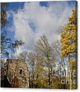 Old Sigulda Castle Ruins Canvas Print