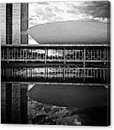 Oscar Niemeyer Architecture- Brazil Canvas Print