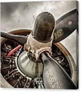 P-17 Prop Canvas Print