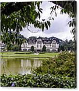 Palacio Quitandinha - Petropolis Brazil Canvas Print
