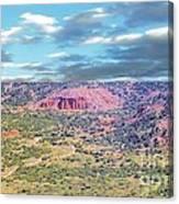Palo Duro Canyon Canvas Print