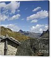 Panoramic View Over Mountain Canvas Print