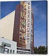 Paramount Theatre Oakland California Canvas Print