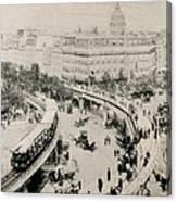 Paris Universal Exhibition Exposition Canvas Print