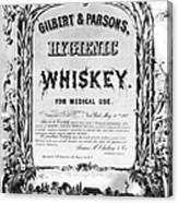 Patent Medicine Poster Canvas Print