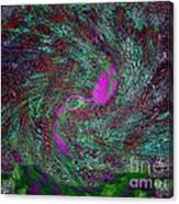 Peacock Dreams Canvas Print
