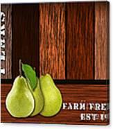 Pear Farm Canvas Print