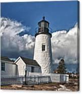Pemaquid Point Lighthouse 4897 Canvas Print