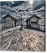 Penarth Pier 2 Canvas Print