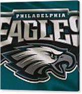 Philadelphia Eagles Uniform Canvas Print