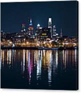 Philadelphia Reflections Canvas Print