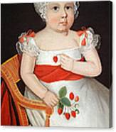Phillips' The Strawberry Girl Canvas Print