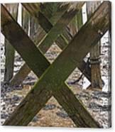 Pier Structure Canvas Print