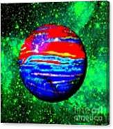 Planet Disector Red 1 Canvas Print