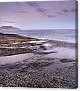 Plomo Beach Canvas Print