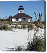 Port Boca Grande Lighthouse Canvas Print
