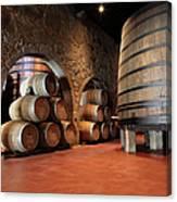 Porto Wine Cellar Canvas Print