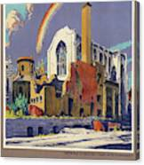 Poster London, 1944 Canvas Print
