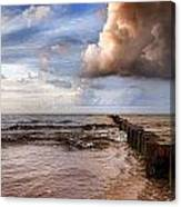 Prerow Beach Canvas Print