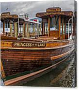 Princess Of The Lake Canvas Print