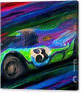 Psychotic Hippy Canvas Print
