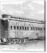 Pullman Car, 1869 Canvas Print