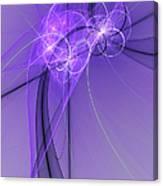 Purple Illusion Canvas Print