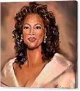 Queen Of Talk Show Canvas Print