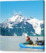 Rafters On The Alsek River Canvas Print