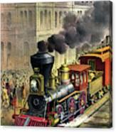 Railroad, 1874 Canvas Print