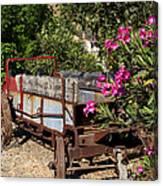 Ranch Wagon Cross Over Canvas Print