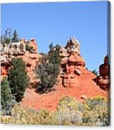 Red Canyon - Utah Canvas Print