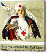 Red Cross Poster, C1918 Canvas Print