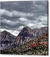 Red Rock Canyon - Las Vegas Nevada Canvas Print