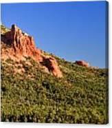 Red Rock Formation Sedona Arizona 27 Canvas Print