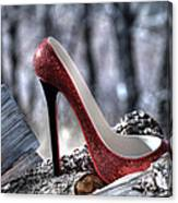 Red Shoe Canvas Print
