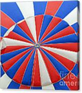 Red White And Balloon  Canvas Print