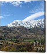 Remarkables Mountains Canvas Print