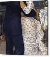 Renoir, Pierre-auguste 1841-1919. Dance Canvas Print
