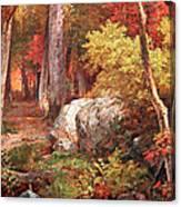 Richards' October Canvas Print