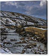 River Swale Canvas Print