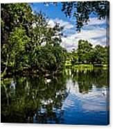 Roath Park Lake Canvas Print