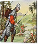 Robinson Crusoe Canvas Print