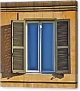 Roman Window Canvas Print