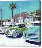 Romancing On San Diego Avenue Canvas Print