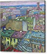 Roofs Of St. Petersburg  Canvas Print